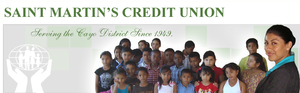Saint Martin's Credit Union - Belize - banner